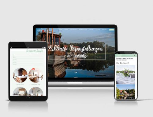Redesign der Seelodge Website