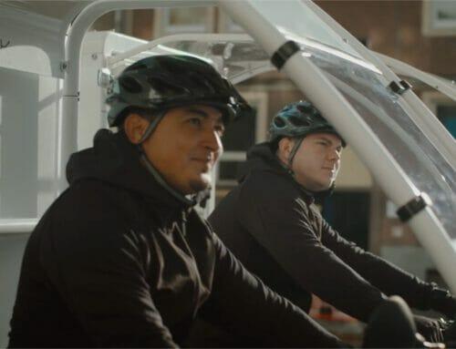 Produktion Citylog Transportfahrrad Film